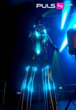 LED Roboter Show