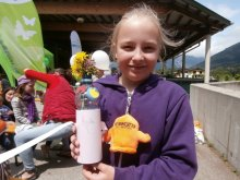 28. Juni, Kinderanimation am Recyclinghof in Schwaz