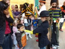 Kinderanimation, Fasching